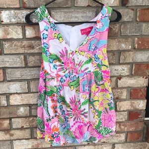 Lilly Pulitzer Nosey Posie tank